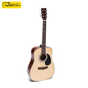 Các góc ảnh của Đàn Guitar Acoustic D-100 | thegioiguitar.com.vn | 0865 888 685