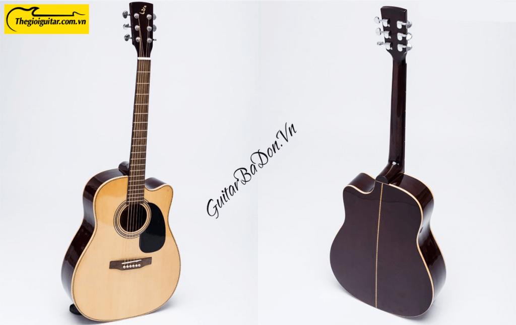 Các góc ảnh của Đàn Guitar Acoustic J-150-D | thegioiguitar.com.vn | 0865 888 685