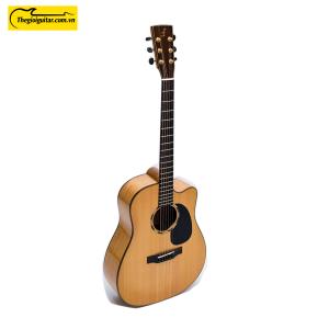 Các góc ảnh của Đàn Guitar Acoustic J-550-C Còng Website : Thegioiguitar.com.vn Hotline : 0865 888 685