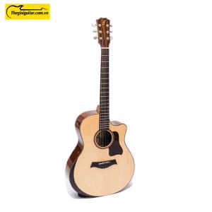 Các góc ảnh của Đàn Guitar Acoustic Taylor T450 có gù Website : Thegioiguitar.com.vn Hotline : 0865 888 685