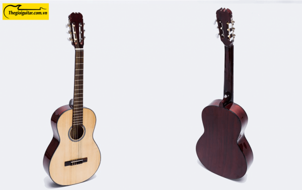 Các góc ảnh của Đàn Guitar Classic VE70C Website : Thegioiguitar.com.vn Hotline : 0865 888 685