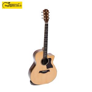 Các góc ảnh của Đàn Guitar Acoustic Taylor T700 cẩn xà cừ. Liên hệ 0865 888 685