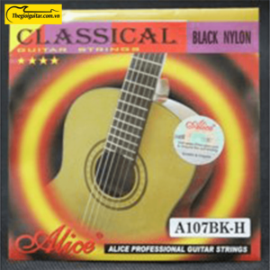 Dây Đàn Guitar Classic Alice A107-BK | Thegioiguitar.com.vn | 0865 888 685