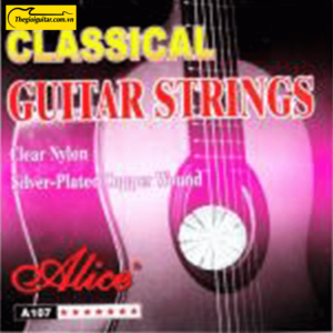 Dây Đàn Guitar Classic Alice A107-N | Thegioiguitar.com.vn | 0865 888 685