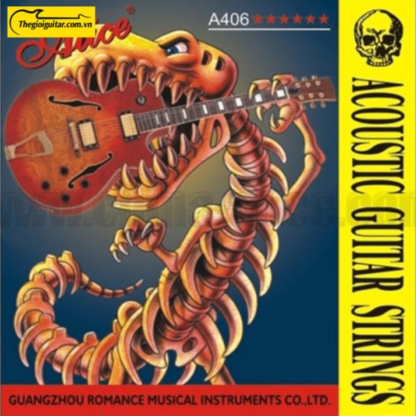 Dây Đàn Guitar Acoustic Alice A-406 | Thegioiguitar.com.vn | 0865 888 685
