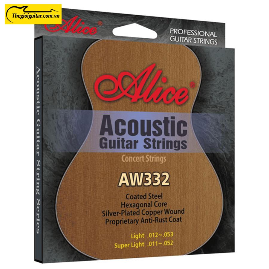 Dây Đàn Guitar Acoustic Alice AW-332 | Thegioiguitar.com.vn | 0865 888 685