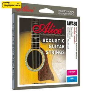 Dây Đàn Guitar Acoustic Alice AW-430 | Thegioiguitar.com.vn | 0865 888 685