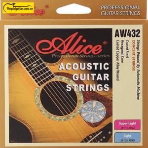 Dây Đàn Guitar Acoustic Alice AW-432 | Thegioiguitar.com.vn | 0865 888 685