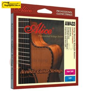 Dây Đàn Guitar Acoustic Alice AW-433 | Thegioiguitar.com.vn | 0865 888 685