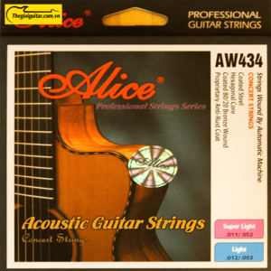 Dây Đàn Guitar Acoustic Alice AW-434 | Thegioiguitar.com.vn | 0865 888 685