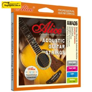 Dây Đàn Guitar Acoustic Alice AW-436 | Thegioiguitar.com.vn | 0865 888 685