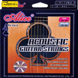 Dây Đàn Guitar Acoustic Alice AW-464 | Thegioiguitar.com.vn | 0865 888 685