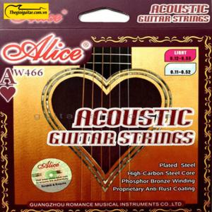 Dây Đàn Guitar Acoustic Alice AW-466 | Thegioiguitar.com.vn | 0865 888 685