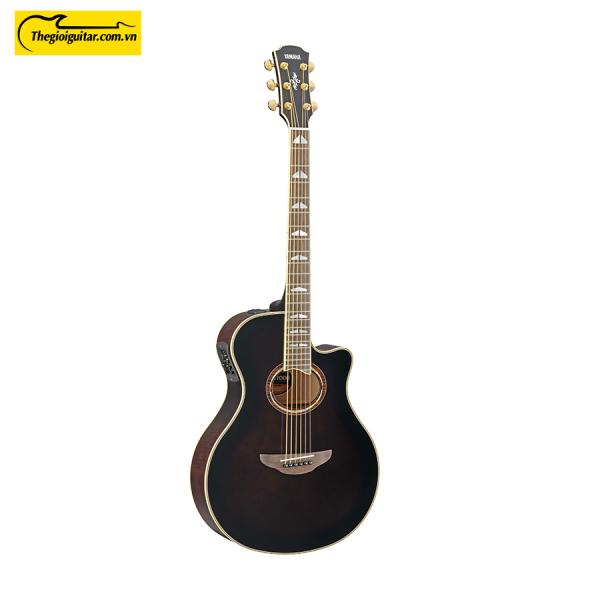 Đàn Guitar Yamaha APX1000 Màu Mocha Black | Thegioiguitar.com.vn | 0865 888 685