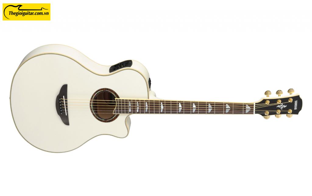 Đàn Guitar Yamaha APX1000 Màu Pearl While | Thegioiguitar.com.vn | 0865 888 685