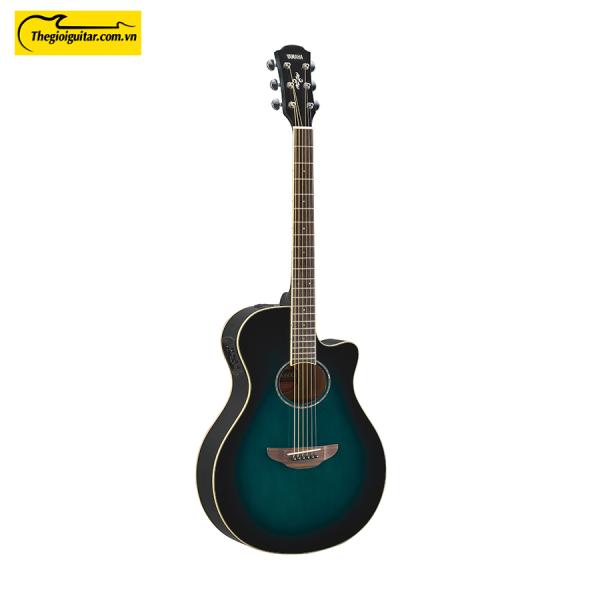 Đàn Guitar Yamaha APX600 Màu Oriental Blue Burst   Thegioiguitar.com.vn   0865 888 685