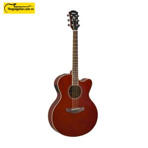 Đàn Guitar Yamaha CPX600 Màu Root Beer | Thegioiguitar.com.vn | 0865 888 685