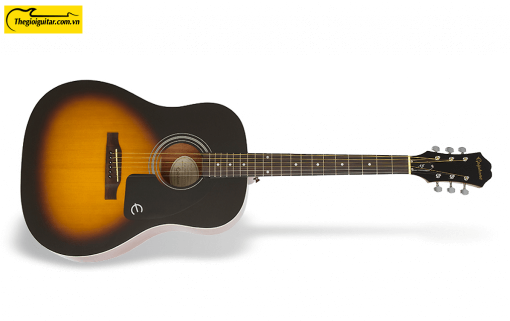 Đàn Guitar Acoustic Epiphone AJ-100 Màu Vintage Sunburst | Thegioiguitar.com.vn | 0865 888 685