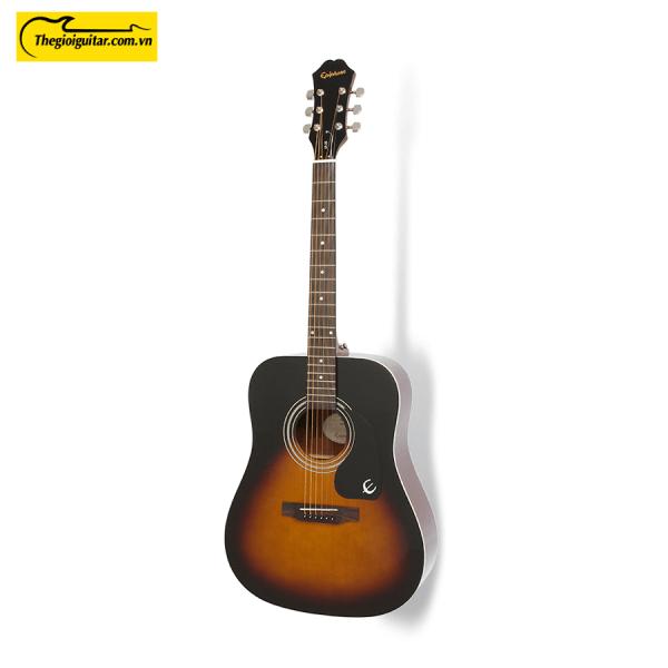 Đàn Guitar Acoustic Epiphone Dr-100 Màu Vintage Sunburst | Thegioiguitar.com.vn | 0865 888 685