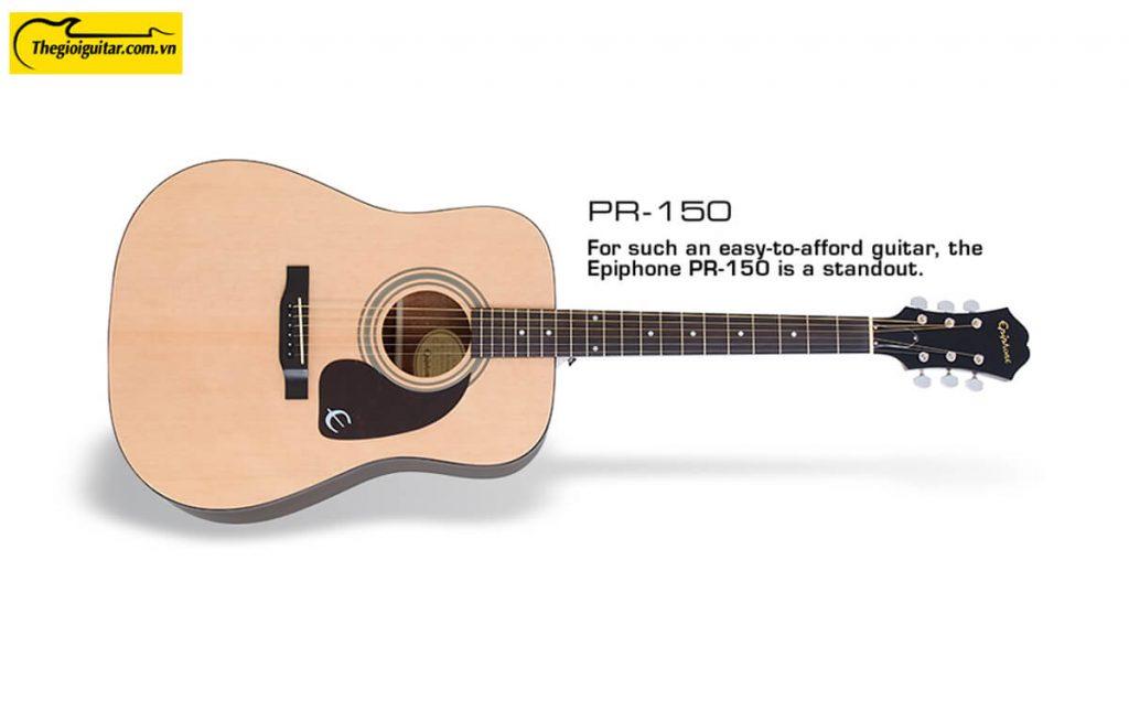 Đàn Guitar Acoustic Epiphone PR-150 Màu Natural | Thegioiguitar.com.vn | 0865 888 685