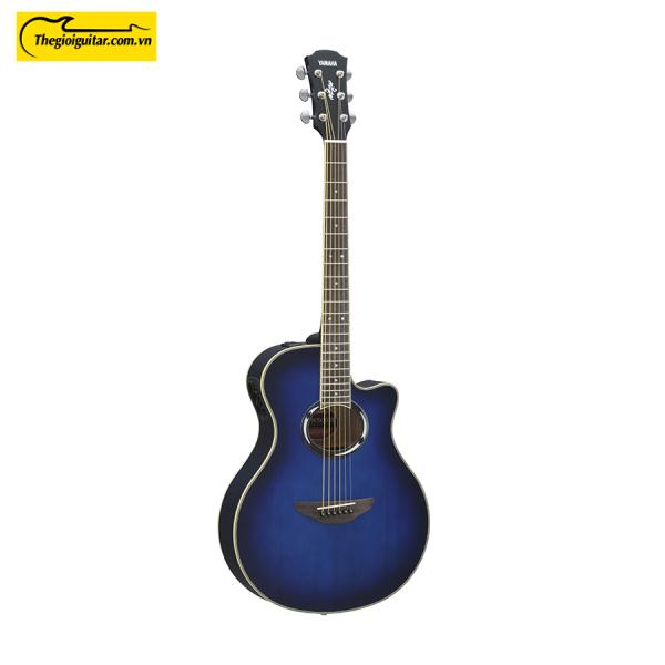 Đàn Guitar Yamaha APX500III Màu Oriental Blue Burst   Thegioiguitar.com.vn   0865 888 685