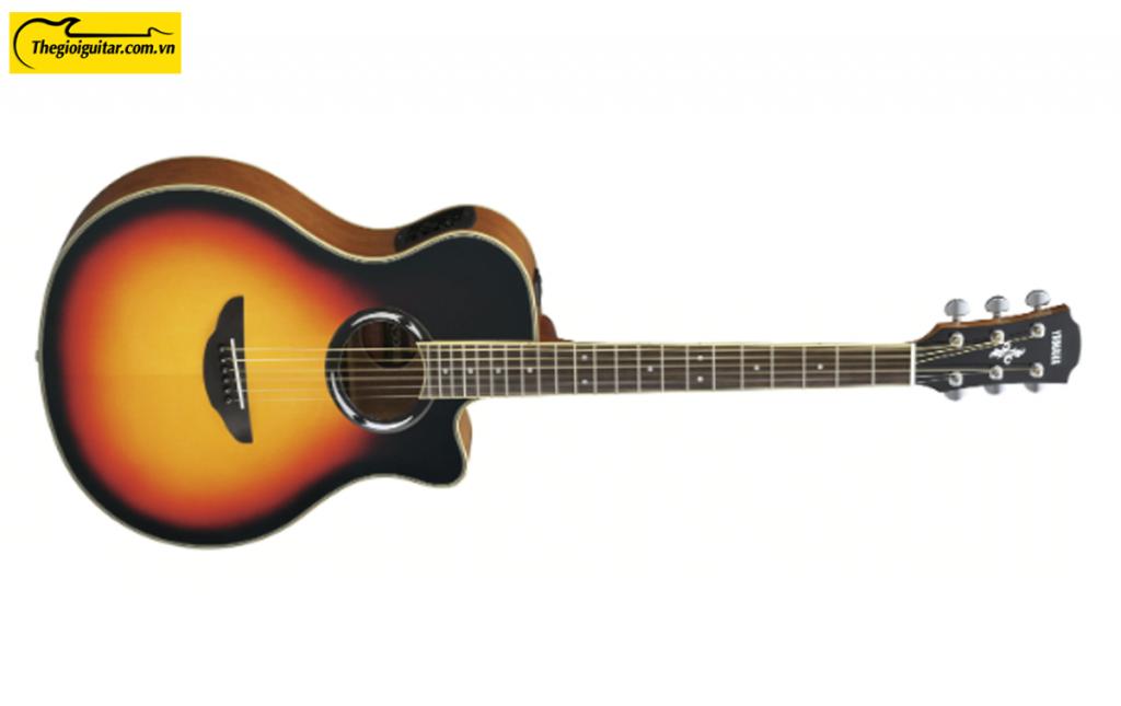 Đàn Guitar Yamaha APX500III Màu Vintage Burst   Thegioiguitar.com.vn   0865 888 685