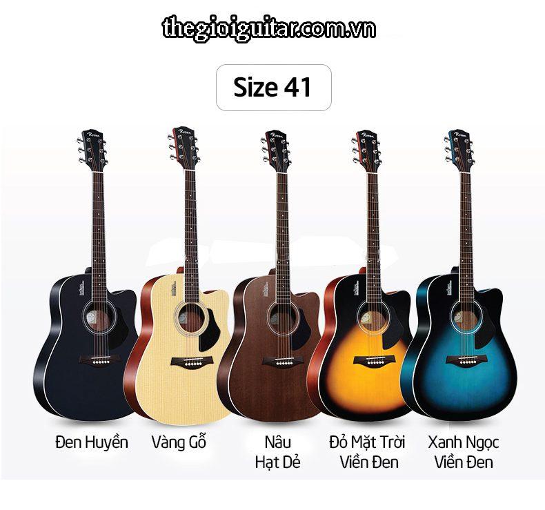 Màu sắc đàn guitar rosen r135