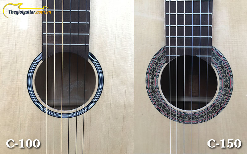 so-sanh-dan-guitar-classic-c-100-va-c-150