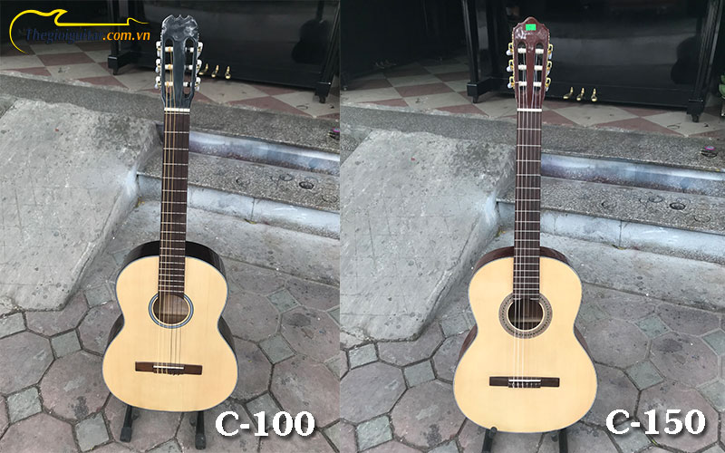 so-sanh-dan-guitatt-classic-c-100-va-c-150