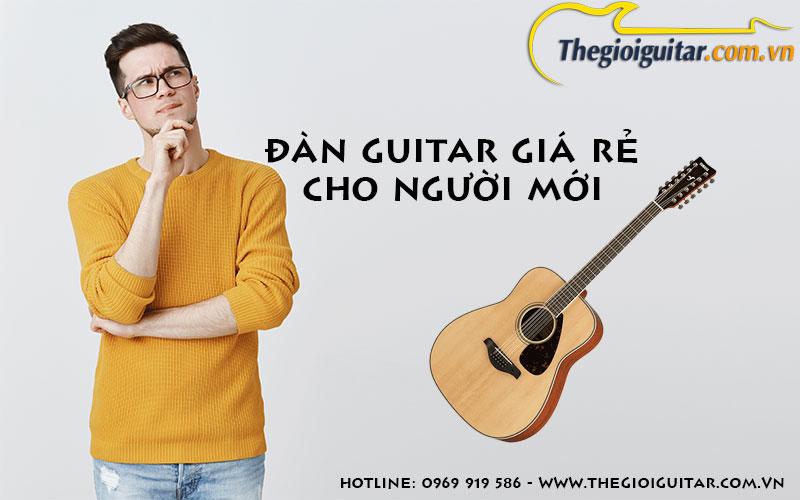 dan guitar gia re cho nguoi moi